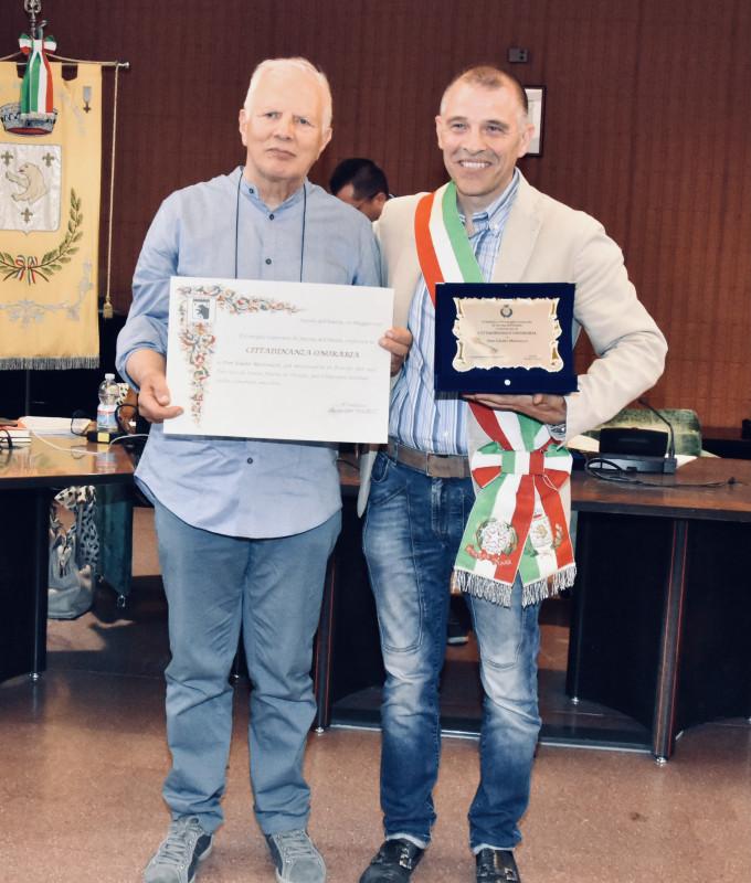 Cittadinanza onoraria Don GIULIO
