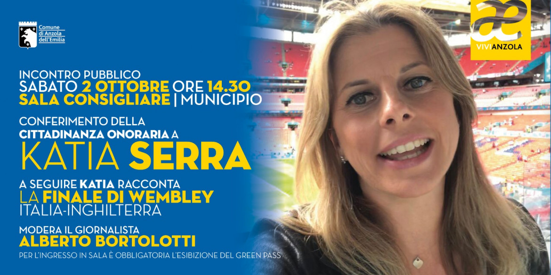 cittadinanza onoraria a Katia Serra